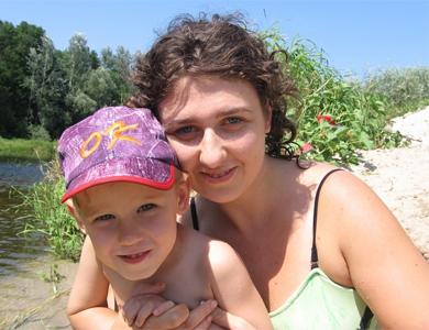 Анна Мельникова и Дима