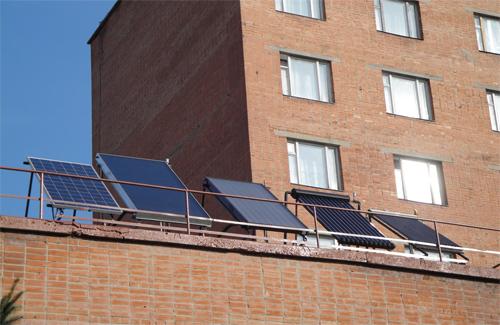 Сонячні батареї ветлікарні ПДАА