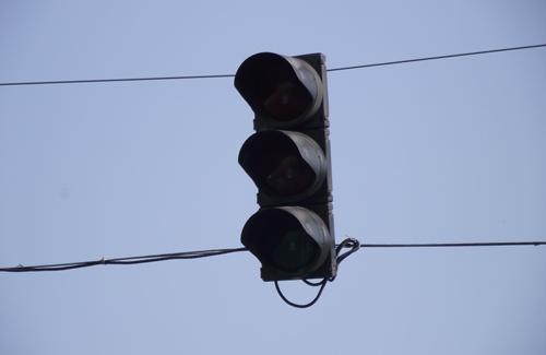 Потухшие светофоры в Полтаве стали причиной ДТП