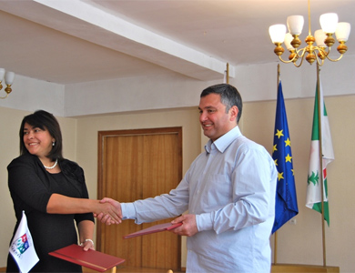 Делегація з Полтавського міськвиконкому днями повернулася із Грузії