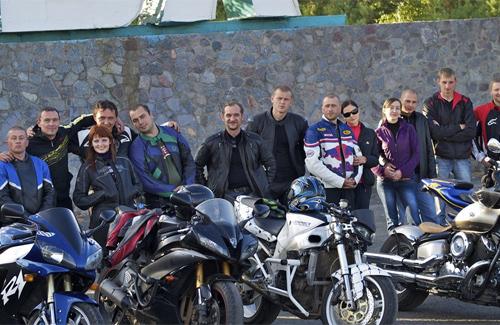 Полтавские мотоциклисты