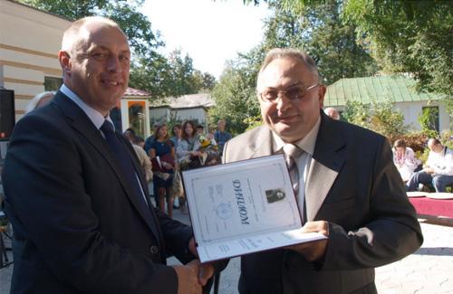 Олександр Мамай вручив лауреатам премію імені Короленка