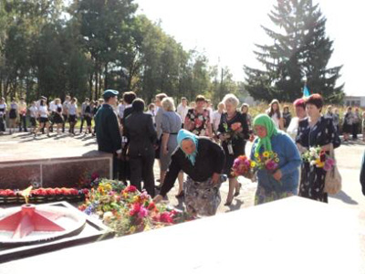 У Семенівському районі вшанували жертв війни