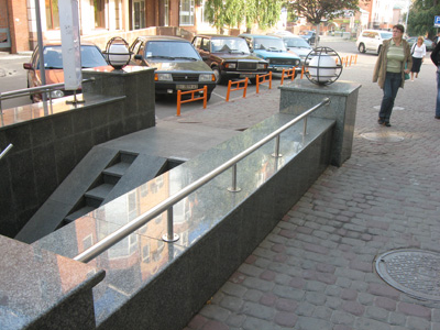 Велопарковка біля «АТБ»