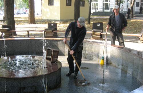 После дня города в Полтаве отключат фонтаны