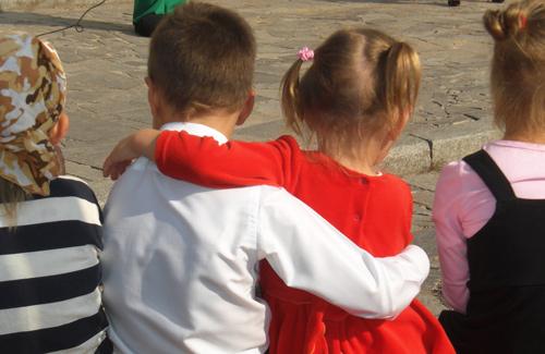 Как полтавские дети любят свой город