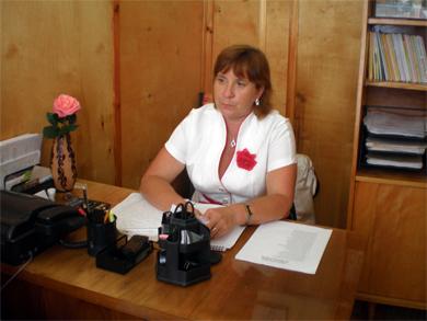Голова спілки пасічників Полтавщини Наталія Сенчук