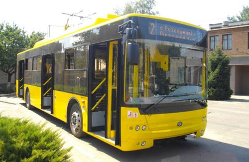 Тролейбус «Богдан»