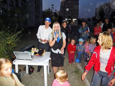 На Леваді відбулося дитяче свято