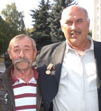 Анатолий Марьянов и Виктор Шпеченко