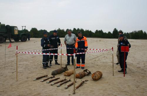 В ООН поцікавилися як на Полтавщині знищують вибухонебезпечні предмети