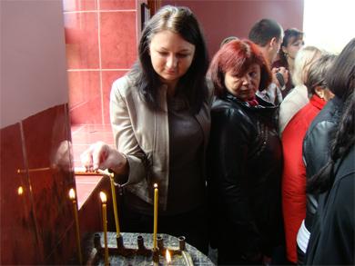 Владика Федір відвідав храм у Нових Санжарах