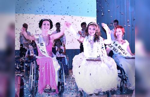 Полтавчанка на инвалидной коляске стала королевой красоты