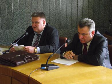 Володимир Мирошниченко та Анатолій Журавльов