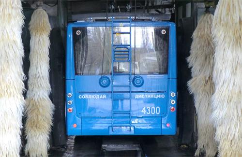 Мийка для тролейбусів