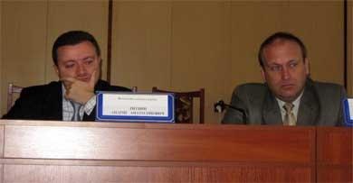 Андрій Литвин та Андрій Ральський
