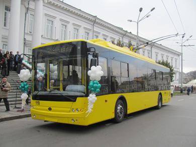 Новые троллейбусы ушли в рейс по кольцевому маршруту