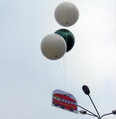 В Полтаве запустили десять новых троллейбусов «Богдан»