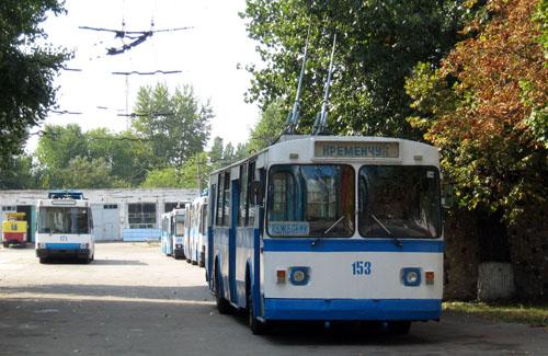 У Кременчуці на маршрути виведуть рекордну кількість тролейбусів