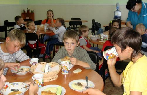 Харчування дітей на полтавщині