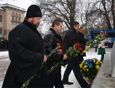 У Полтаві відзначили День Соборності та Свободи України