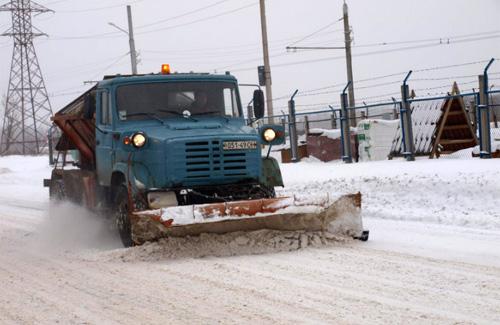Основні автодороги Полтави вільні від снігу