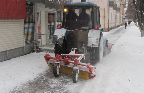 У Полтаві підприємці заплатять за неприбраний сніг