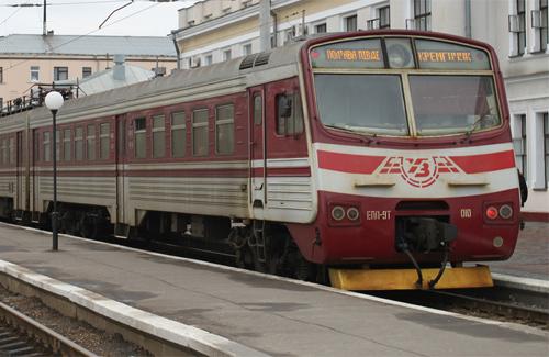 Електричка Полтава — Кременчук