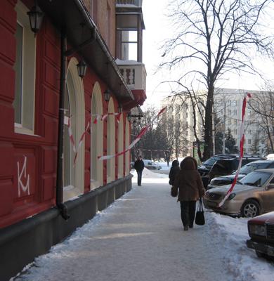 Деякі мешканці Полтави ігнорують попередження комунальників