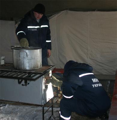 Полтавська область розпочала розгортати мобільні пункти обігріву