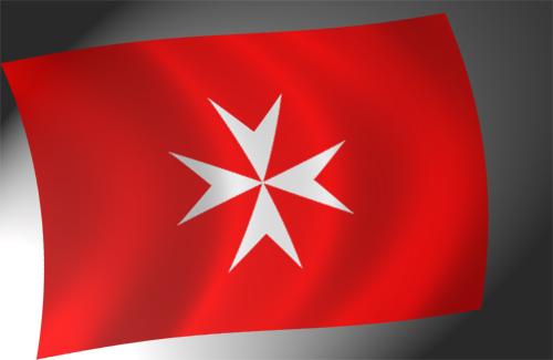 Флаг Ордена госпитальеров