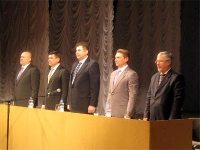ХІІI звітно-виборча конференція Полтавської обласної організації Партії регіонів