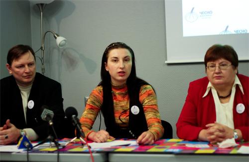 Євген Янкевич, Ольга Жуковська, Ганна Кіященко