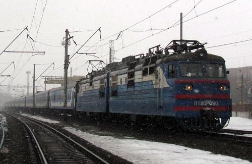 Поезда пошли своими маршрутами