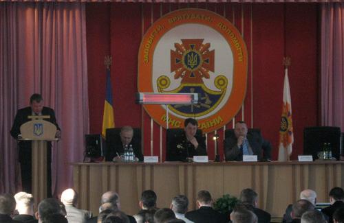 Засідання працівників УМНС України у Полтавській області