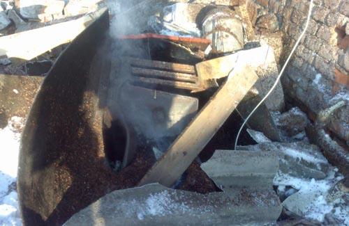 «Тосол» в системе отопления стал причиной взрыва