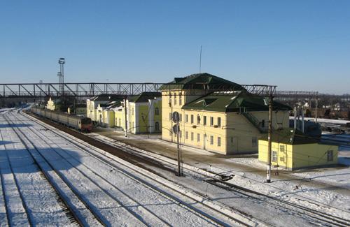 Вокзальний комплекс станції Гребінка