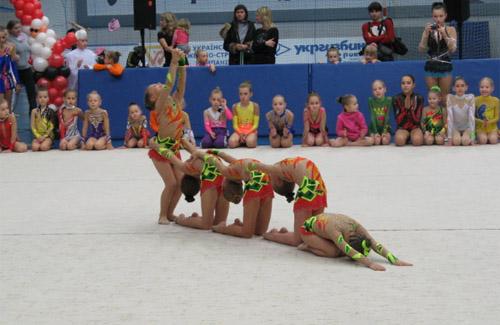 Полтавські гімнастки досягли високих результатів