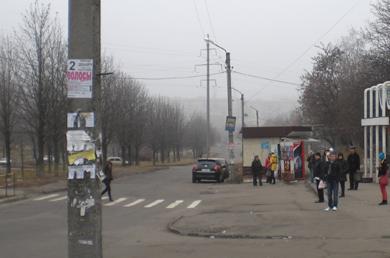 Пішохідний переход у районі Сади-2