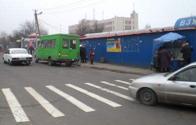 Пішохідні переходи у районі Сади-2