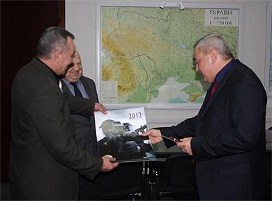 Свой День отметили и сотрудники и ветераны ЦСО «А» СБ Украины