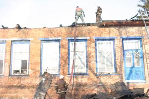 Школа після пожежі