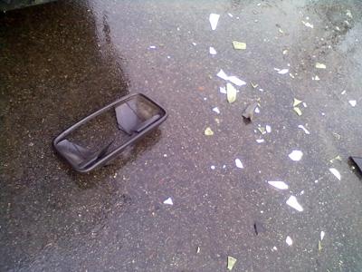 У ДТП в Полтаві постраждав електротранспорт (фото)