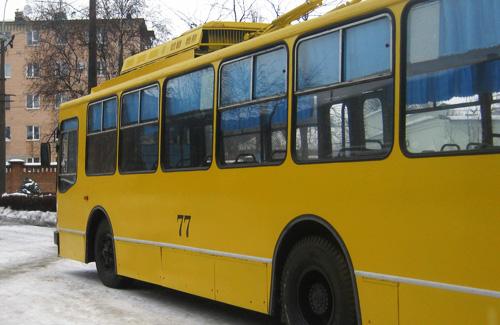 Усі тролейбуси в Полтаві стануть кольору сонця