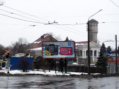 Будівництво приміської автостанції Полтава-4