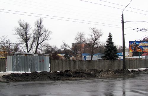 Будівництво  автостанції «Полтава-4»