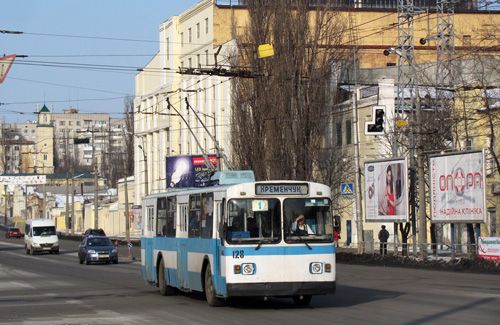 Троллейбус в Кременчуге
