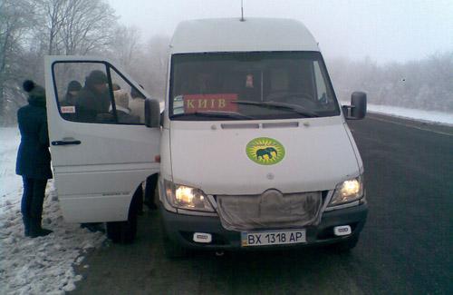 Пассажиры «Зеленого слона» спаслись бегством от пьяного водителя