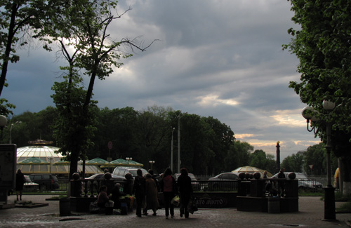 По всій україні дощова погода