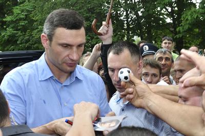 Віталій Кличко на Полтавщині відвідав Лазірки та Оржицю